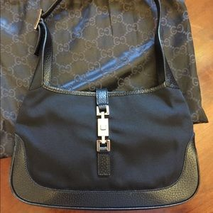 Gucci small black Jackie bag